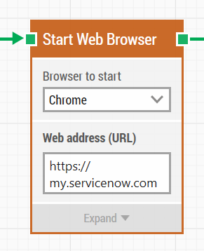 1.1 start web browser