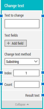 Change-text