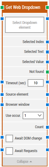 Get-web-dropdown-block