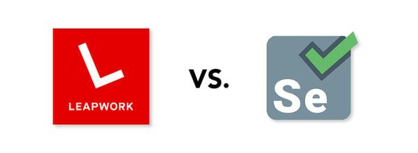 LEAPWORK vs Selenium graphic