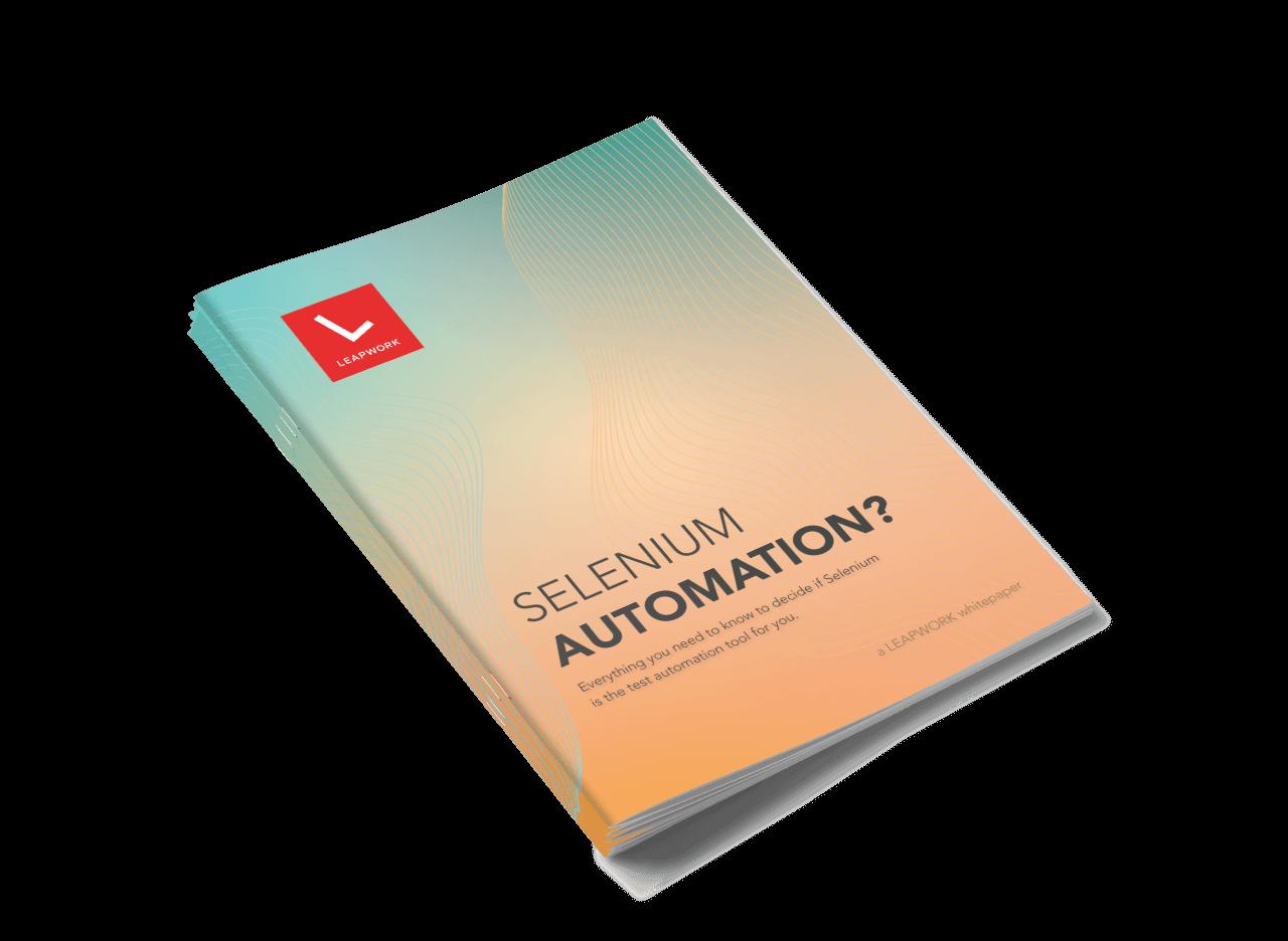 Whitepaper_SeleniumAutomation_Cover
