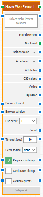 hover web element