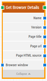Get Browser Details Building Block